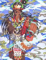 Tezcatlipoca by Kurogami-Productions