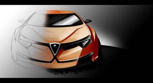 Alfa Romeo Sedan by Ghost21501