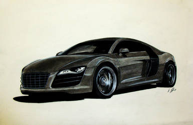 AUDI R8 by Ghost21501