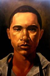 Self Portrait by Ghost21501