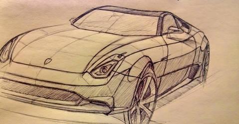 Porsche Concept by Ghost21501