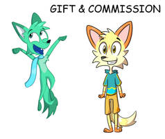 gift and commission by Eluthar