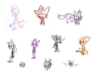 old sketches dump by Eluthar
