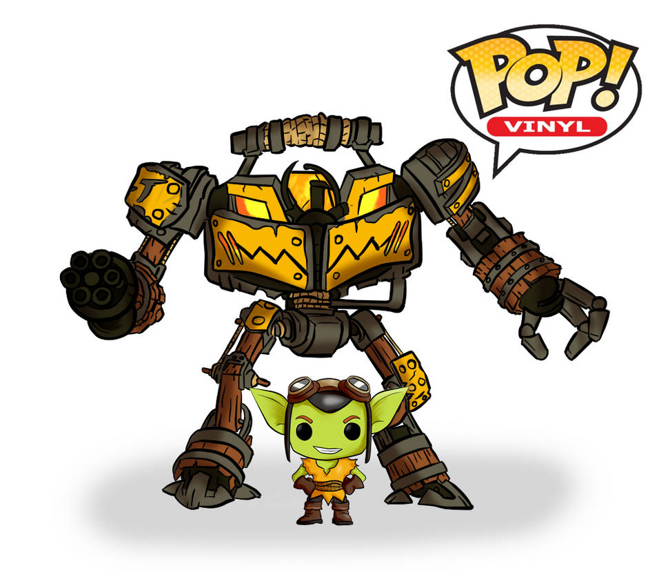 Ruckus and Bolt Funko Pop edition by David-nator