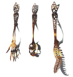 Skeletal Flatware by whatwith