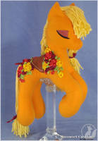 Apple Jack Other side by LadyLittlefox