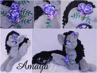 Amaya (Beautiful Night Rain) 20 inch -On Ebay by LadyLittlefox