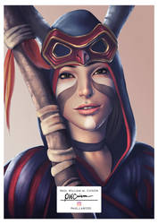 Rachel Amber as Prospera - Deck Nine print version by Paularized