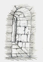 Window of the Chapter House by emi-chan