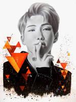 Kim Namjoon | BTS by Art-Ablaze