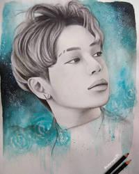 #10YearsWithSHINee - Taemin by Art-Ablaze