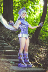 ShamanKing Cosplay-Iron Maiden Jeanne Armor by Alex-Willow