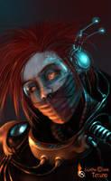 Techno-man by BettyElgyn