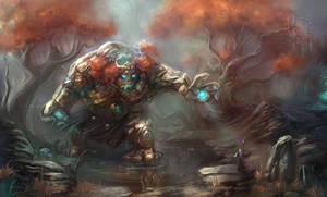 The-troll by BettyElgyn
