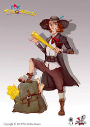 For Treasure! Bonus Hero-Traveler by BettyElgyn