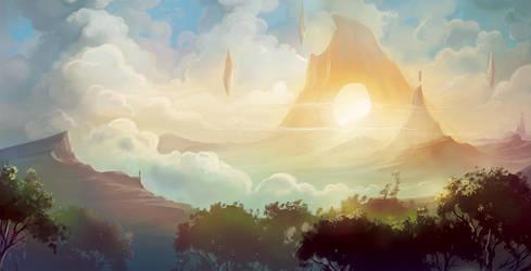 Sunrise-Gate by BettyElgyn
