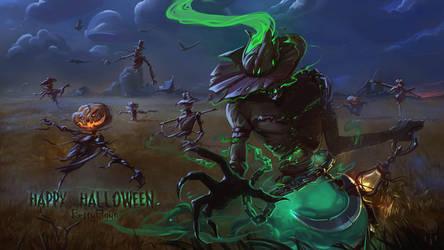 Halloween2018 Scarecrows by BettyElgyn