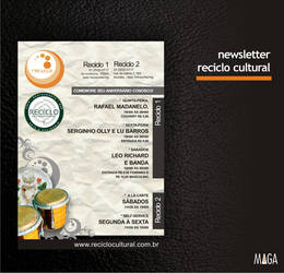 newsletter RECICLO CULTURAL by mateuzord