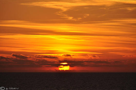 Sunset  Baltic Sea by Bull04