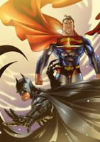 World's finest Superman Batman by BrianFajardo