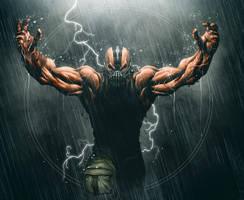 Bane fanart Batman Rises by BrianFajardo