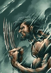 Wolverine quckie by BrianFajardo