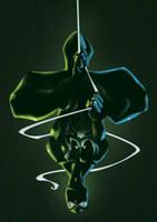 spidey black by BrianFajardo