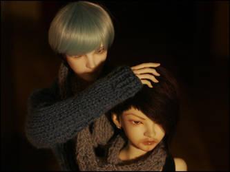 Haru and Reiji by DeadTora