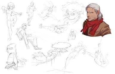 More Doodles! by DanielAraya