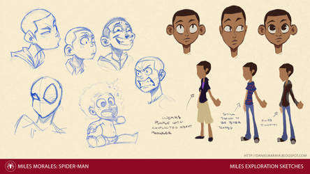 Miles Sketches by DanielAraya