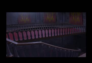 Castlevania - Belmont Stairs by DanielAraya