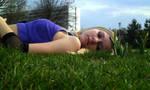 Ino in the grass by PragueShitaiCT