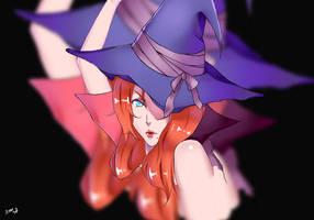 Halloween Rangiku Matsumoto by AdamSai