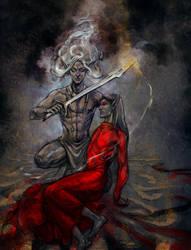 Defender of the last by RisingMonster
