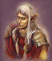 Vivec, the Warrior-Poet by RisingMonster