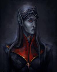 Lord Voryn Dagoth, Dagoth Ur by RisingMonster