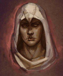 Altair sketch by RisingMonster