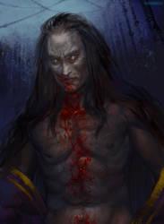 Dark Souls 3: Aldrich Saint of the Deep by RisingMonster