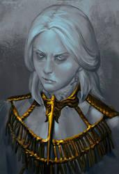 Dark Souls Gwyndolin Sketch by RisingMonster