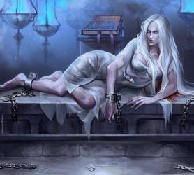 Commission. Elethia Delacourt by RisingMonster