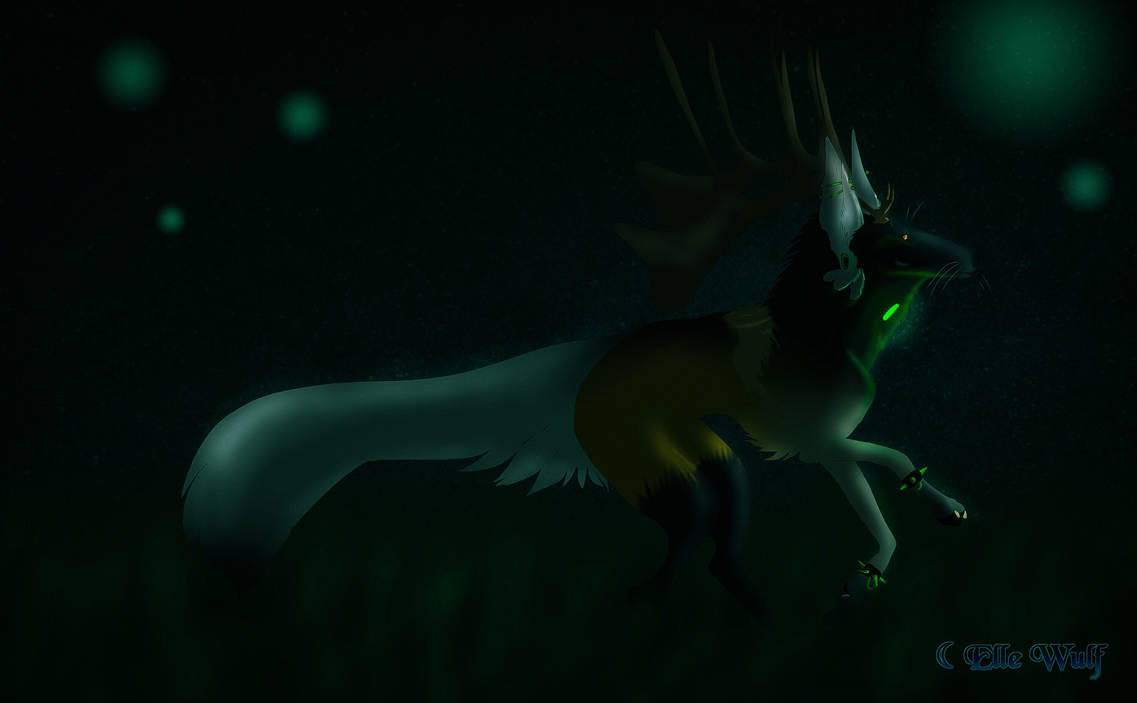 October (i cant think of a title rn oof) by canine-jaws