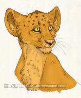 Lion Cub by Mganga-The-Lion
