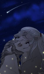 Geralt|Regis by Mganga-The-Lion