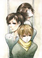 Threesome war by Senkoku