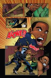Vigilante Project Issue 1 - Comic Book Lettering by seanglumace
