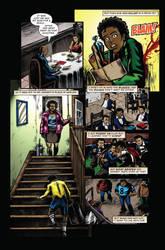 Vigilante Project Issue 2 - Comic Book Lettering by seanglumace