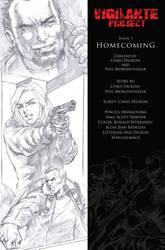 Vigilante Project Issue 3 - Comic Book Lettering by seanglumace