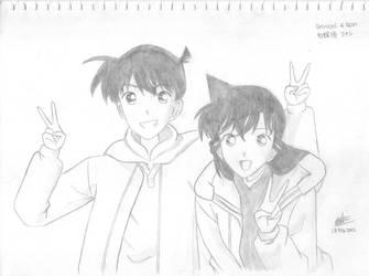 DC- Ran and Shinichi by Mishierru