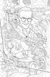 Sideshow: Stan Lee by red-monkey