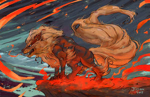 Arcanine by red-monkey